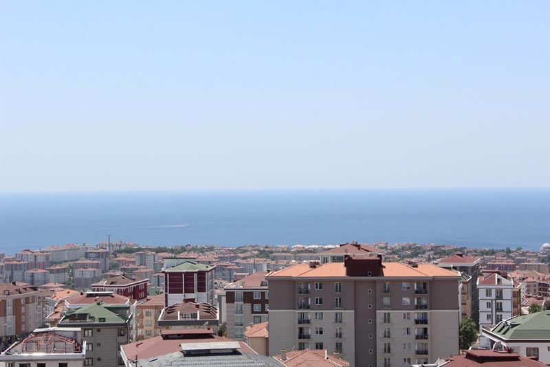 Central sea view apartments for sale in Beylikduzu Istanbul